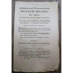 Bulletins Des Lois 262 (1810)