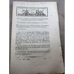 Bulletins Des Lois 104 (1801)