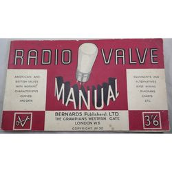 Bernards Radio Valve Manual
