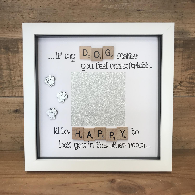 I ❤ My dog | Crafty Monkey | Personalised Golden Wedding Led ...