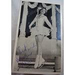 Daphne Walker Figure Skater Autographed Postcard Size Photo