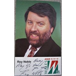 Roy Noble, OBE, DL, O.St.J Autographed Photoprint