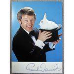 Paul Daniels Magician Autographed Photoprint