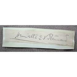 Henrietta Eliza Vaughan Stannard (John Strange Winter) Signature Clip