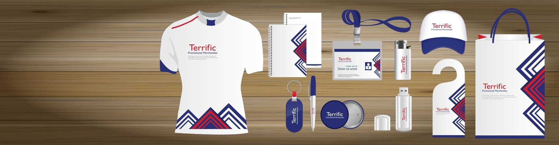 Printed Mugs, Pens, Clothing, Lanyards and Promotional Products