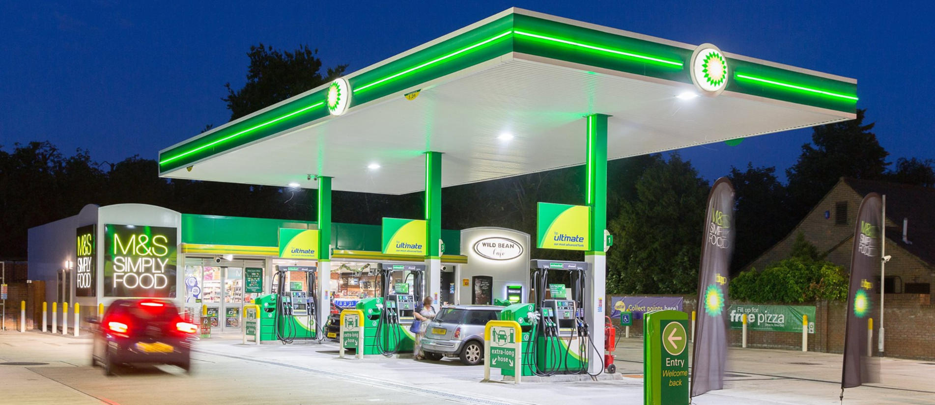 Electrical Contractors Surrey, Electricians Surrey, Petrol Station