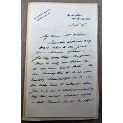 Helena Saville Faucit (Lady Martin) 1817-98 Actress Signed letter