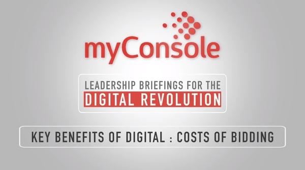 Key Benefits of Digital - Costs of Bidding