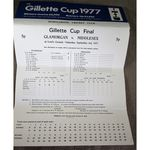 Glamorgan V Middlesex 1977 Gillette Cup Final Cricket Scorecard