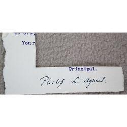 Philip L Agnew Principal Unidentified Signature Clip