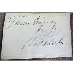 Unidentified Signature Clip (Black?)