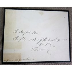 George Goschen First Lord of The Admiralty Signed Envelope