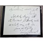 Late 19th/Early 20thC Signed Letter (mentions Col Brooke)
