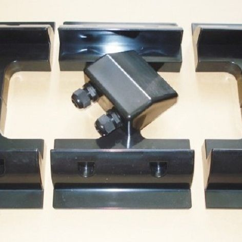 Solar Panel Mounting Brackets (Black Set)