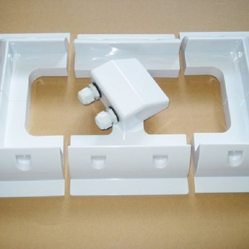 Solar Panel Mounting Brackets (White Set)