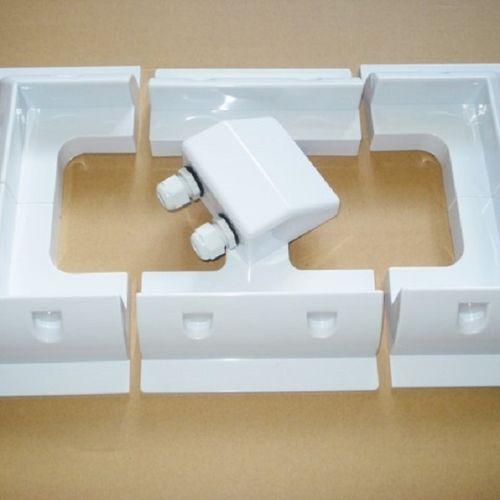 Solar Panel Mounting Brackets (White Set)