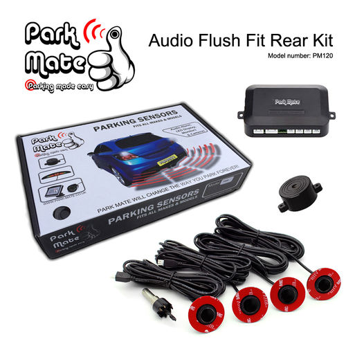 Audio Buzzer Flush Fit Rear Parking Sensors Park Mate PM120