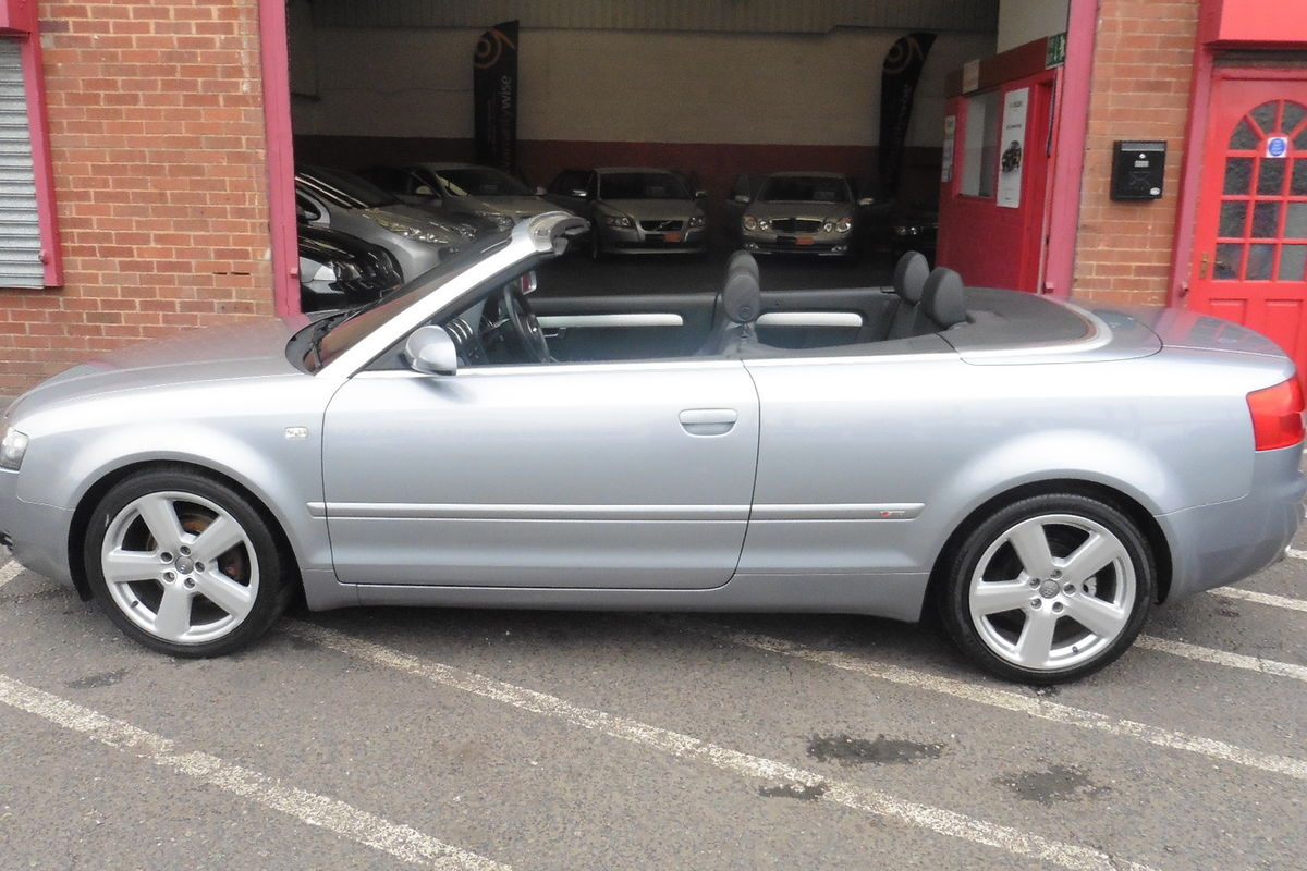Audi A4 Cabriolet 1.8T S-Line - Only 2 Owners From New - New Cam Belt