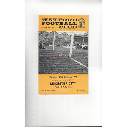 Leicester City Away Football Programmes