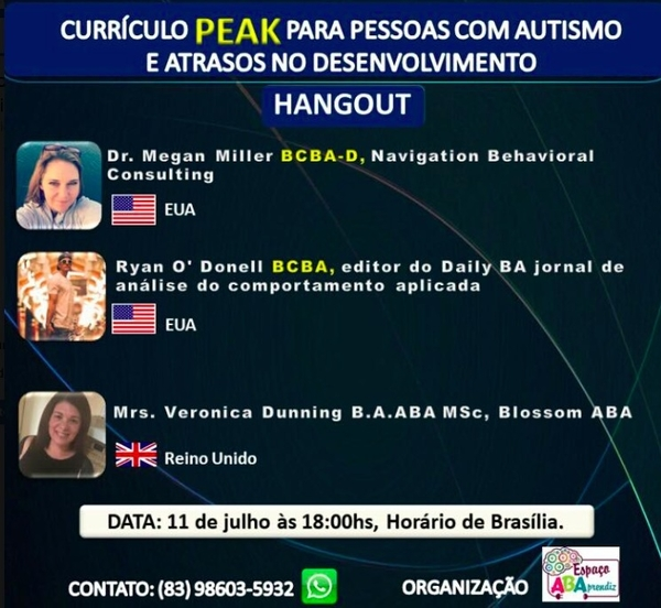 PEAK coming to Brazil, the Daily BA, ACT, OBM and ABA in Brazil