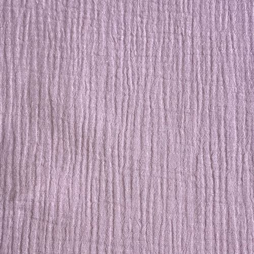 Lilac Double Cotton Gauze
