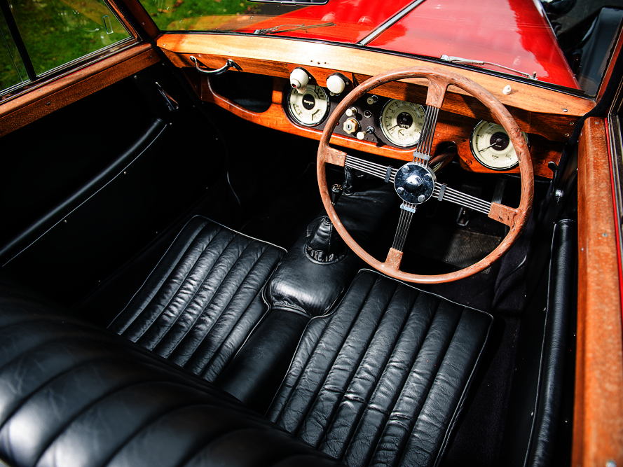 SOLD - 1952 Morgan Plus 4 Drophead Coupe