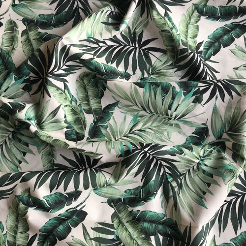 Lady McElroy Leafy Tropics Cotton Lawn