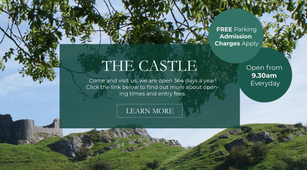 Carreg Cennen Castle, Attractions Llandeilo, Weddings Carmarthenshire