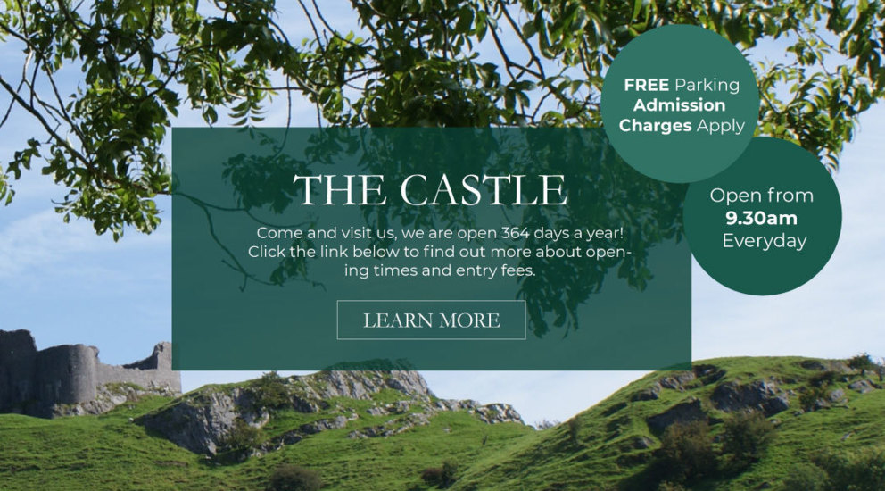 Carreg Cennen Castle, Attractions Llandeilo, Weddings Carmarthenshire