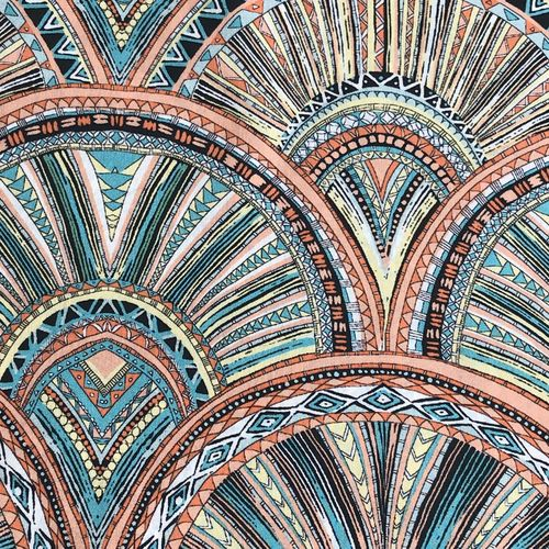 Lady McElroy Shellscape Cotton Lawn