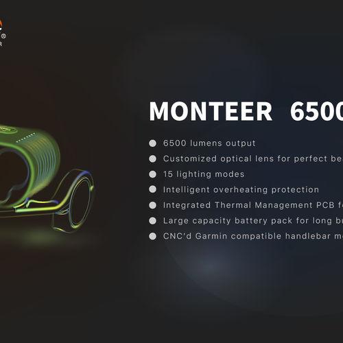 Magicshine Monteer 6500 Lumens Bike Light