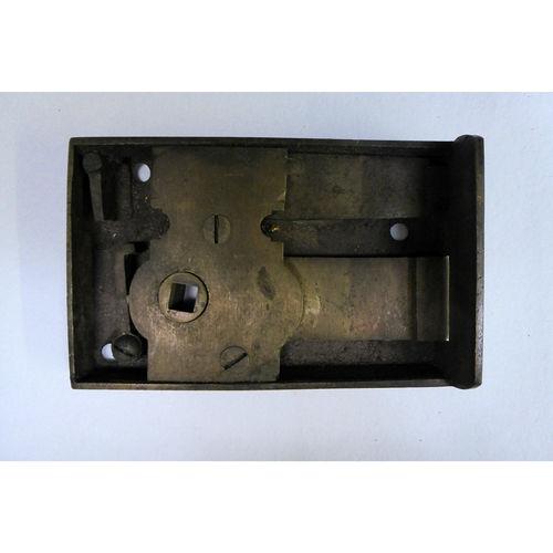Victorian Antique Shifting Bolt Langebear Birmingham Brass Rim Lock - £320