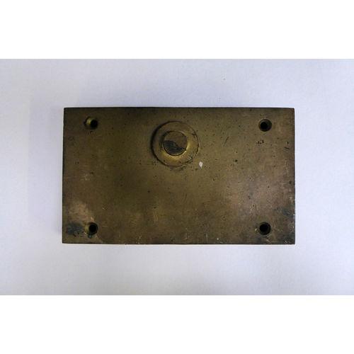 Superb Georgian Antique Brass Rim Lock - £480