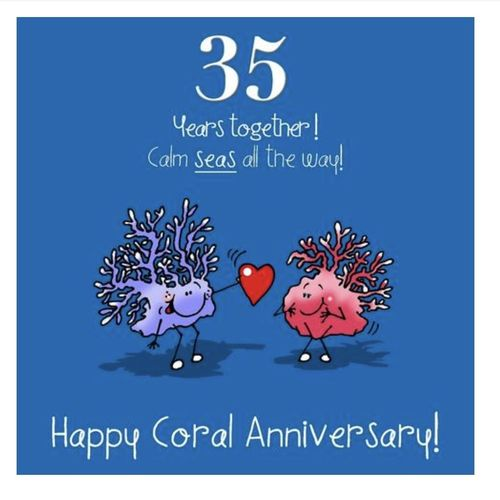 35th Anniversary card