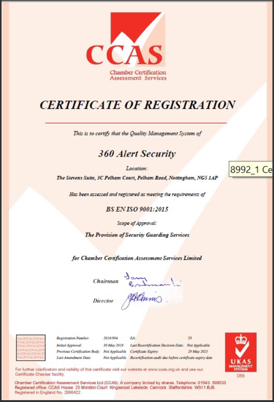 security company Nottingham | security services Nottingham