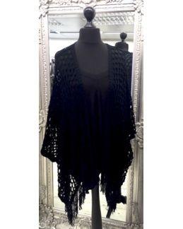 Malissa J Collection...Tassel Kimono