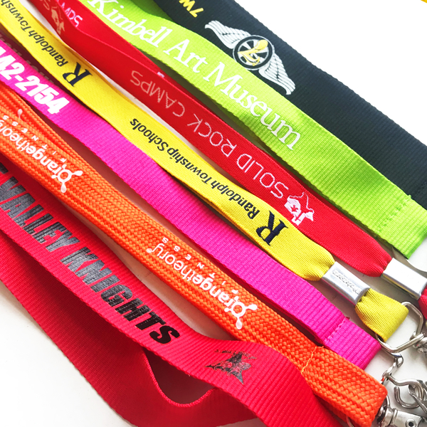 Professional made lanyards - a great way to get your brand on display!