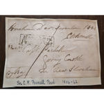 Sir Charles Merrik Burrell, 3rd Baronet, MP New Shoreham 1834 Signed Envelope