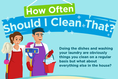 How Often Should You Be Washing Household Items?