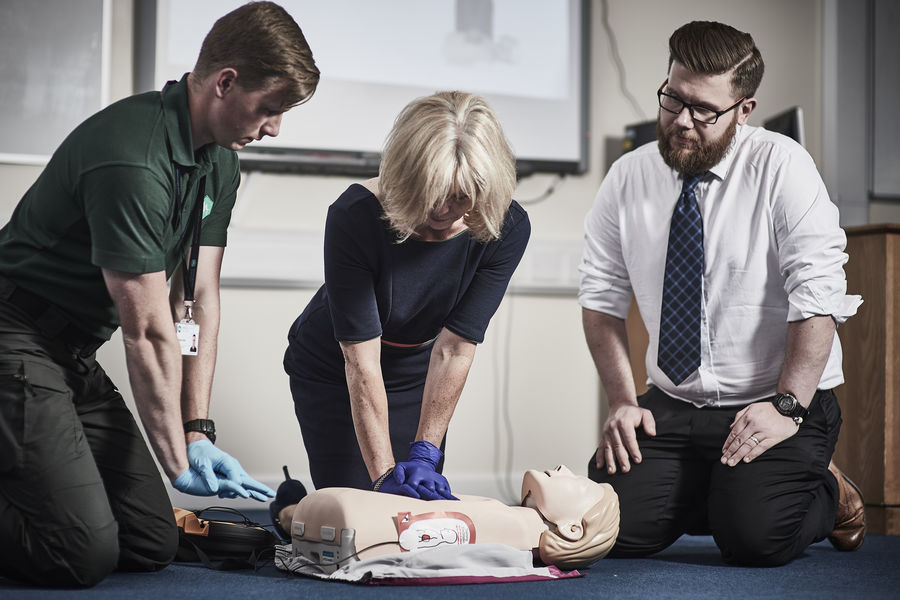 BLS and Safe Use of an AED