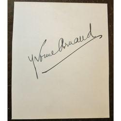 Yvonne Arnaud 1890-1958 Pianist singer actress Autograph (& E Rayson-Cousens)