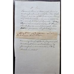 Dr Samuel Parr (1747-1825) Clipped signature & notes Headmaster Colchester
