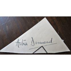 Astra Desmond (born Gwendolyn Mary Thompson) Contralto Autograph Clip