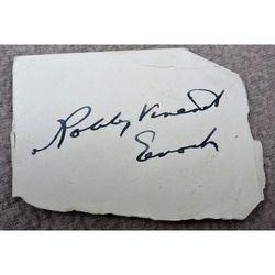 Robbie Vincent Enoch Autograph Clip