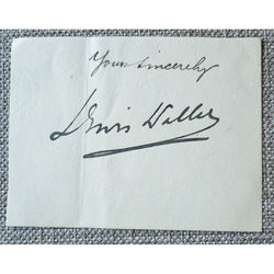 William Waller Lewis (Lewis Waller) Autograph Clip