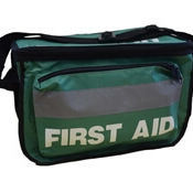 Empty First Aid Haversack with front pocket