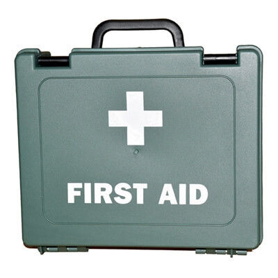 Empty First Aid Kit - 1-20 Persons