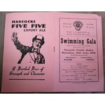 Penarth Swimming Gala July 1951 Programme