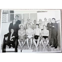Penarth Swimming Club 1963 Season Team Photo