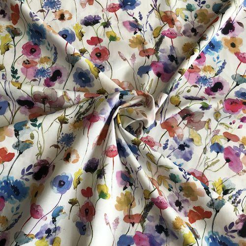 Lady McElroy Watercolours Cotton